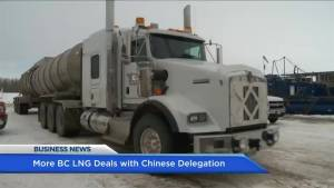BIV: More BC LNG deals with Chinese delegation