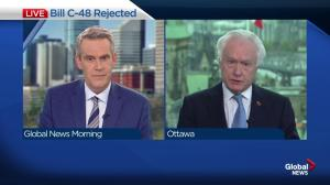 Senator Doug Black on Senate committee rejecting tanker ban Bill C-48