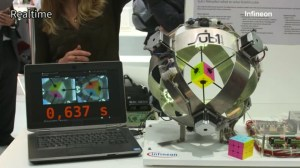 Robot sets new record for solving the Rubik's Cube