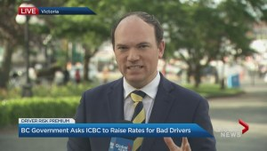 Government proposed huge ICBC increases for bad drivers
