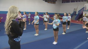 'It doesn't matter your body type, it doesn't matter your age': Kelowna cheerleading squad heads to Orland for international competition