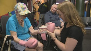 92-year-old retired teacher headlines Saint John area boxing class