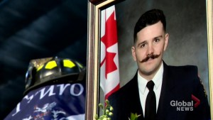 Regimental funeral held for fallen Nova Scotia firefighter