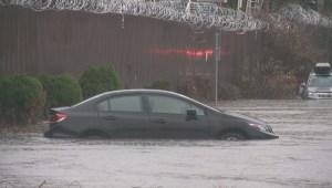 Heavy rainfall in Metro Vancouver
