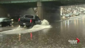 Heavy rain causes flooding, road closures around Toronto