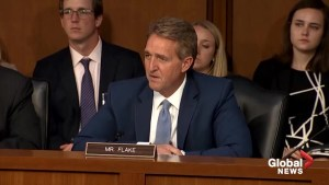 Sen. Flake asks to focus on Brett Kavanaugh's writings to see how he will judge on SCOTUS