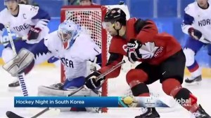 Pyeongchang 2018: Team South Korea's Canadian hockey players battle Canadian counterparts