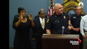 Tampa police apologize after ASL interpreter at press conference signs 'gibberish'