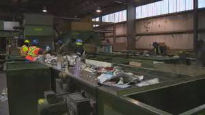 Winnipeg recycling plant workers tired of handling human waste
