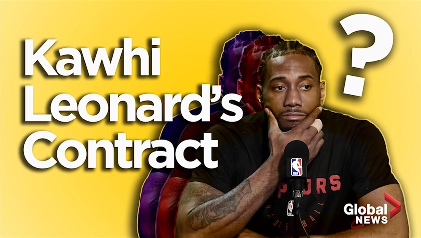 Toronto might have a wee bit of a Kawhi Leonard problem