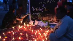 Vigil held for victims of Pakistan attack