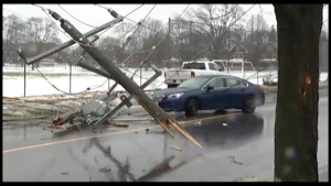 Crash on Aylmer St. in Peterborough knocks out power to thousands.