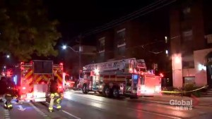 Firefighters rescue residents from 3-alarm blaze in Cabbagetown