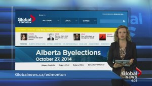 Alberta Byelections special site