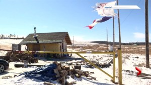 Nova Scotia court grants injunction against Mi'kmaq protester at Alton Gas site