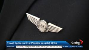 Travel concerns over possible WestJet strike