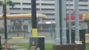 Dash cam video shows Hurricane Michael hammer Panama City Beach