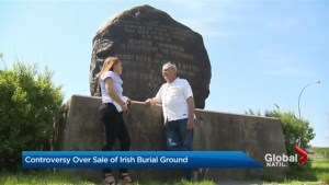 Controversy over sale of Irish burial ground