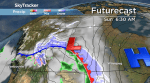 Saskatoon weather outlook: blast of snow, freezing rain and wind
