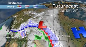 Saskatoon weather outlook: blast of snow, freezing rain and wind