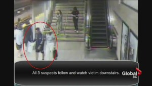 Gang of Thieves stealing from passengers on the Canada Line