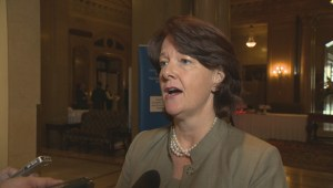 Former Alberta Premier Allison Redford on new Premier Rachel Notley