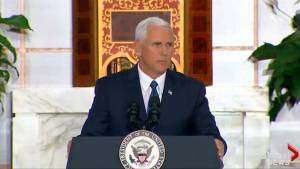 Mike Pence says Trump administration committed to Venezuela