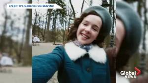 Social media campaign asks 'what if a girl in the Holocaust had Instagram'? (00:59)