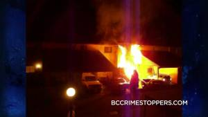 Crime Stoppers: String of unsolved Kelowna arsons