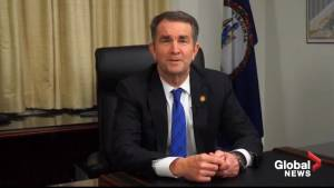 Virginia governor apologizes for racist photo, resists calls to quit