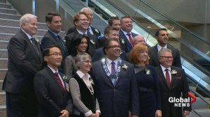 Calgary's new city council sworn in