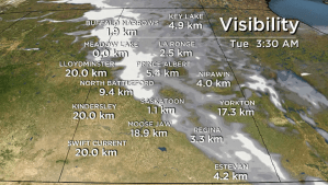 Saskatchewan weather outlook: thick fog returns