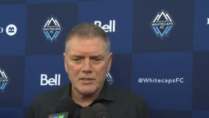 Whitecaps President Bob Lenarduzzi discusses termination of coaching staff