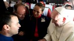 Pope Francis marries couple in first ever wedding ceremony on papal plane