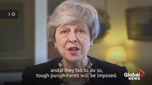 Theresa May says social media companies must do more to police hate, extremism