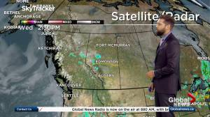 Global News at 5 Edmonton: weather forecast