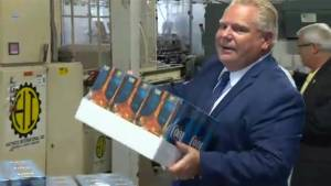 Buck-a-beer on Ontario store shelves