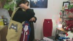Mom gifts purses to homeless as thank you for daughter's second chance