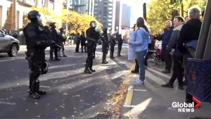 6 arrested as counter protests erupt in Portland