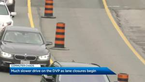 DVP closures lead to traffic troubles