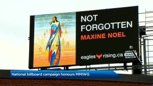 National billboard campaign honours MMIWG