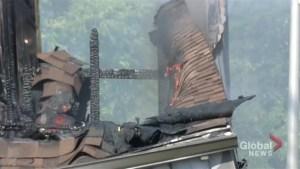 Fire destroys Cambridge OPP detachment