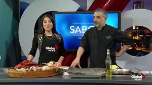 Edmonton's Sabor restaurant shares a seafood dish