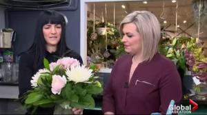 Valentine's Day rush at flower shops