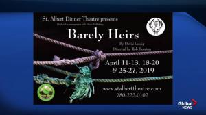 St. Albert Dinner Theatre: Barely Heirs