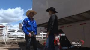 Young athletes spurred to success at the Calgary Stampede Rodeo