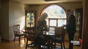 Devastated Calgary widow targeted by thieves: 'they took him away all over again'