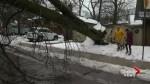 Ice storm cleanup underway in areas hardest hit