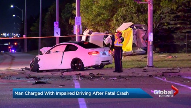 Man Charged With Impaired Driving Causing Death After