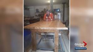 Fort McMurray family's missing table found 1,100 km from destination